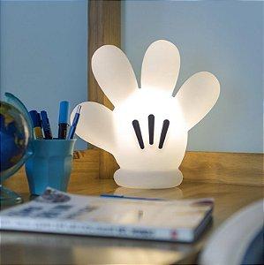 Luminária Luva Mão Mickey Abajur Usare