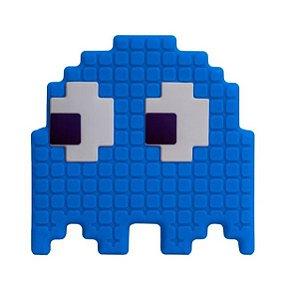 Luminária Abajur Fantasma Azul Pac Man Usare