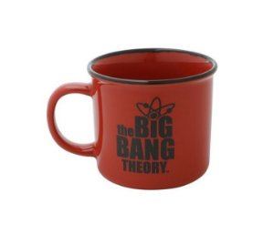 Caneca Porcelana Geek The Big Bang Theory 380ml