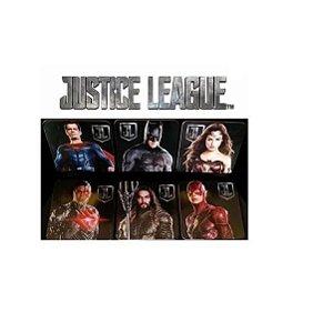 Kit Porta Copos Dc Liga Da Justiça 6 Peças Justice League