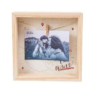 Porta Retrato Varal - Amor Infinito Te Amo