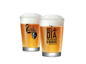 Copo De Cerveja Caldereta Cacildis Vidro 300ml