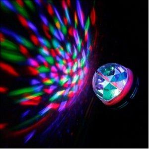 Luminária Projetora Giratória / Rotativa Luzes Para Festa