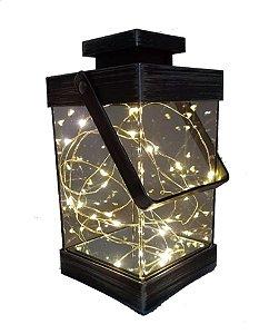 Lanterna Luminária Abajur Luminoso De Led