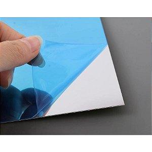 Kit 12 Adesivos De Espelho Autoadesivos Quadrado 15x15cm