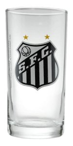 Copo De Vidro Long Drink Cerveja Chopp Santos 300 Ml