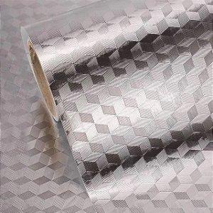 Papel De Parede E  Protetor Para Fogão Em Alumínio - Adesivo Impermeavel