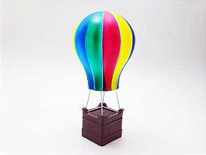 Luminária Abajur Infantil De Led - Balão Colorido