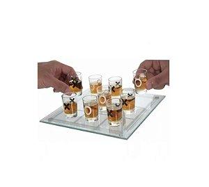 Jogo Da Velha Shot Drink - Jogo De Bar