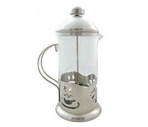 Cafeteira Prensa Francesa Cremeira 350ml Café Chá 2 Em 1