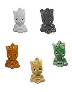 Vaso Baby Groot Guardiões Da Galáxia Vasinho E Porta Objetos