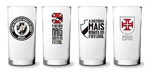 Conjunto 4 Copos Long Drink 300ml Do Vasco