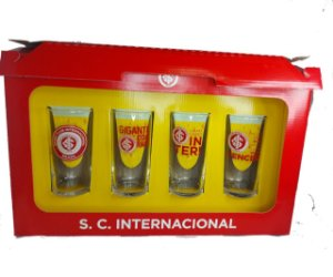 Conjunto 4 Copos Long Drink 300ml Do Internacional