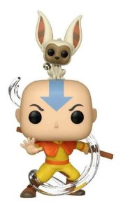 Boneco Aang With Momo Avatar Pop Funko 534