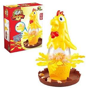 Jogo Quebra Ovos Da Galinha Com As Penas -brinquedo Infantil