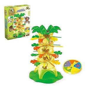 Jogo Cada Macaco No Seu Galho Brinquedo Infantil Pula Macaco