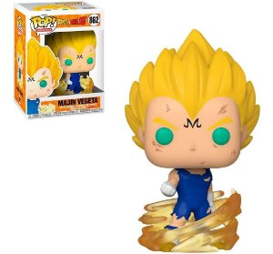 Boneco Dragon Ball Z Pop Funko Majin Vegeta 862
