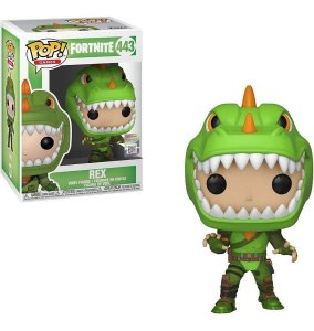 Boneco Funko Pop! Games Fortnite Rex 443