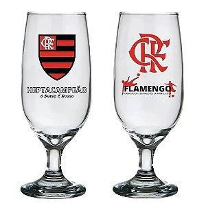 Kit 02 Taças Floripa 300 Ml Flamengo Licenciada Oficial