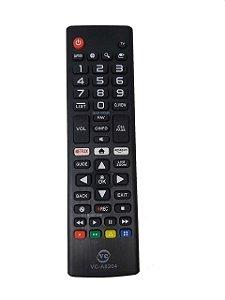 Controle Remoto Compatível Tv Lcd LG Netflix Prime VC-A8204