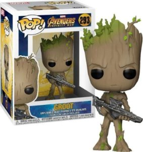 Boneco Funko Pop Marvel Avengers Infinity War Groot 293