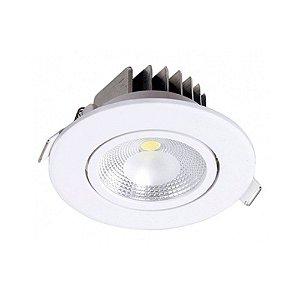 Spot de Embutir LED 6W ABS Bivolt Luz Branca 80160004 Blumenau