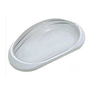 Luminaria Tartaruga Clean Branca E27 p/ uso Externo 2017100 Blumenau