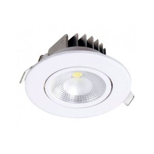 Spot de Embutir LED 6W PP Bivolt Luz Amarela 80163004 Blumenau