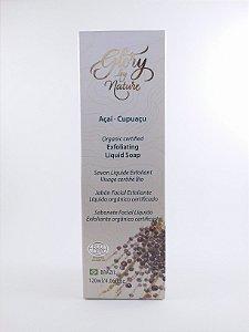 Sabonete Facial Líquido Esfoliante Orgânico Certificado