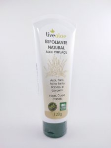 Esfoliante Natural Aloe Cupuaçu