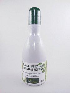 Loção de Limpeza Facial Aloe Vera e Moringa