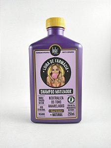 Shampoo Matizador Loira de Farmácia