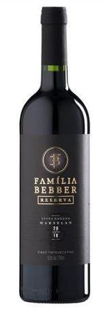 VINHO TINTO BRASILEIRO FAMÍLIA BEBBER - RESERVA - MARSELAN 2020 750ML