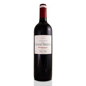 Vinho Tinto Francês Chateau Les Grandes Versennes Bordeaux 750ml