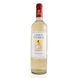 Vinho Cinco Tierras Sorbus Torrontes 2018 750ml Branco Argentino