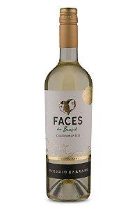 Vinho Branco Brasileiro Lidio Carraro Faces Chardonnay 2020 750ml