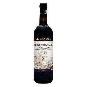 Vinho Tinto Italiano Le Madie Montepulciano D'Abruzzo D.O.C. 750ml