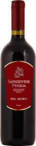 Vinho Tinto Italiano Bel Moro Sangiovese Puglia IGT 750ml