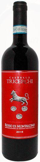 Vinho Tinto Italiano Castello Tricerchi Rosso Di Montalcino 750ml