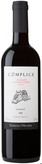 Vinho Tinto Uruguaio Cómplice Estate Collection Tannat 750ml