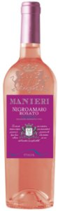 Vinho Rosé Italiano Manieri Negroamaro Rosato Salento 750ml