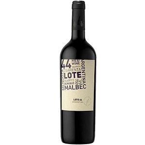 Vinho Tinto Argentino J Catena Lote 44 Malbec 750ML
