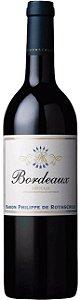 Vinho Tinto Francês Bordeaux Rouge AOC Baron Philippe de Rothschild 750mL