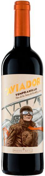 VINHO EL AVIADOR TEMPRANILLO TINTO 750ML ESPANHOL