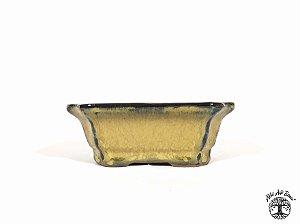 Vaso Retangular Chinês Yixing 12x9,5x4,5 cm (2ª Linha)