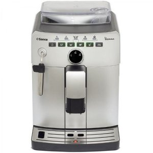 Promoção - Saeco Cafeteira Expresso Automática Italiana com Dispositivo Cappuccinador, Maquina de cafe Philips Saeco Vienna Plus