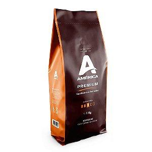 Café em grão América Premium  01KG
