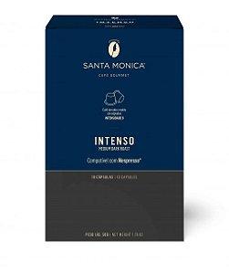 Café em cápsula Santa Monica Intenso com 10 unidades