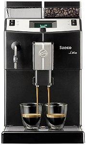 Maquina de Cafe Expresso - Cafeteira Philips Saeco Lirika Black - Assistencia Tecnica Especializada Em Maquinas de Cafe Expresso - MaxCoffee Quality