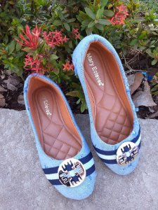 Sapatilha Jeans-Mary Esteves